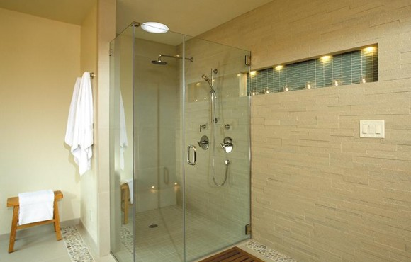 daylighitng device in shower