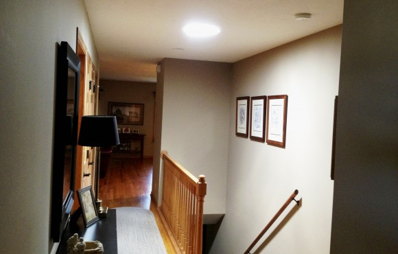 daylighting device in a hall & stairwell