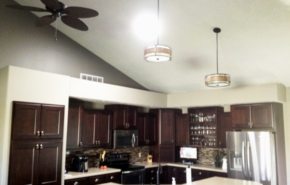 daylighting device in a kitchen