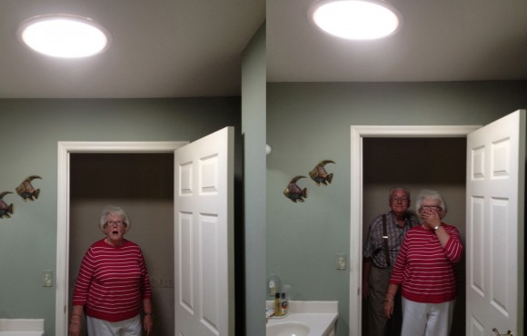 bathroom daylighting device