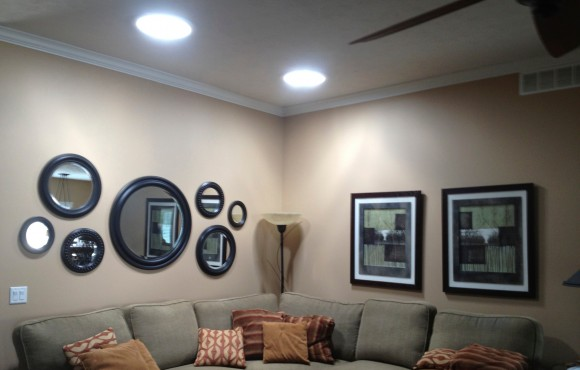 living room daylighting device